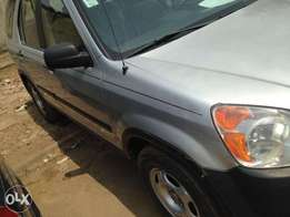 Registered 04 Honda CRV