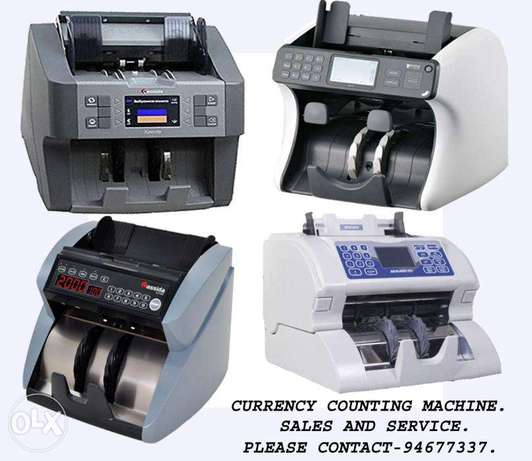 Money counting machine sales & Service