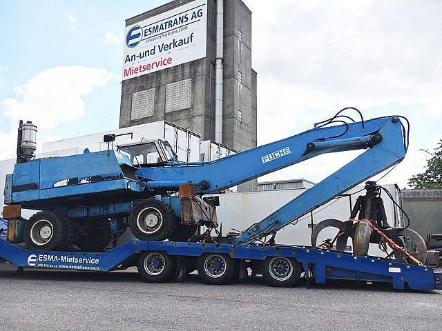 Fuchs F 714.4 Sortierbagger / Umschlagbagger - 1991