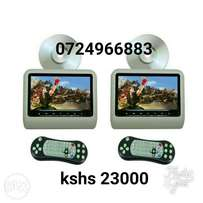Brand new 9inch DVD player car headrest, Free delivery within Nairobi.
