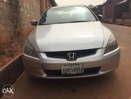 Very sharp Honda accord with all the facilities intact