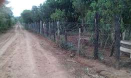 7.5 acres on sale ready tittle deed at 3.2 M per acre near bantu lodge