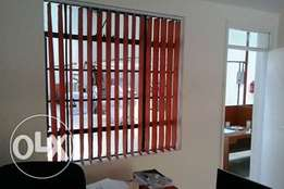 Office vertical curtain blinds