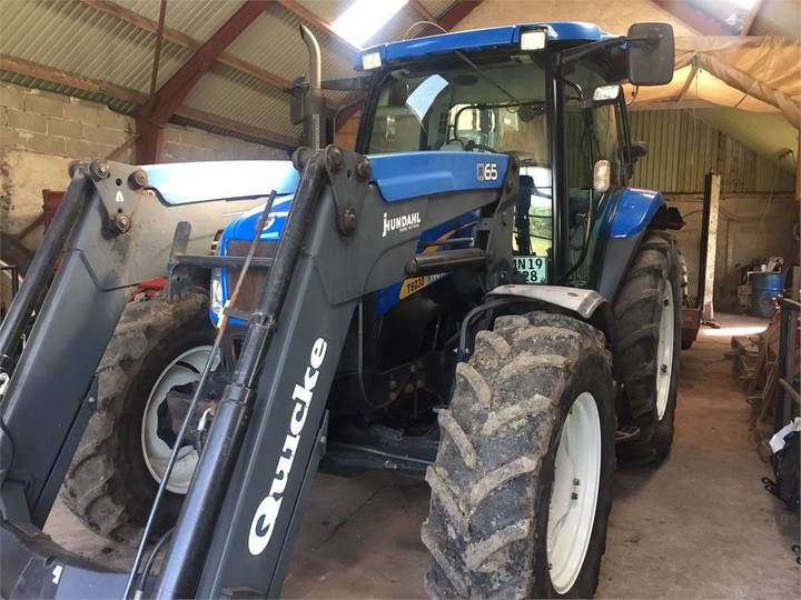 New Holland T6030plus M.ålø Q65 - 2009