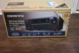 ONKYO AVR TX-NR656 7.2 Channels Full 4K Ultra HD Brand new and warrant