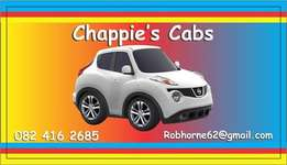 Taxi Service Chappies Cabs in Boskruin