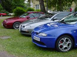 We Buy Damaged Alfa ROMEOS 4 Stripping ONLY BUY CARS WITH Papers PRE
