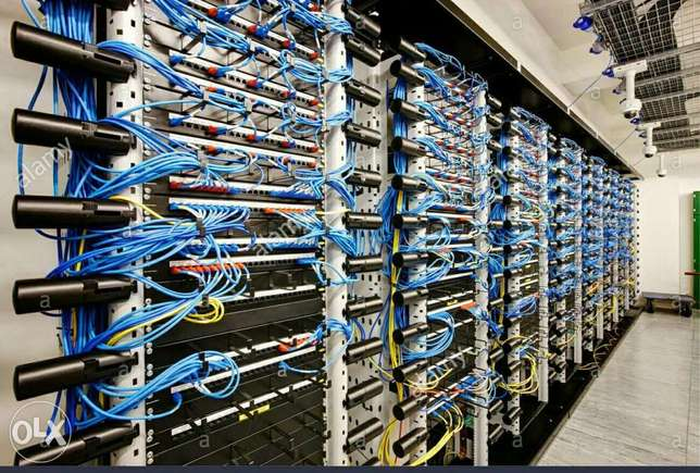 Structural cabling and server services