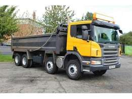 Scania tipper 2009 model
