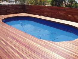 We build new and repair old wooden Decking