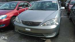 Sparkling clean Toyota Camry 2006 tokunbo tincan cleared
