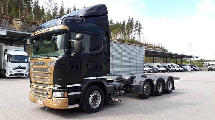Scania R730 8x4/4 Alusta - 2015