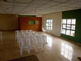 Affordable Training Hall Of 250 Sitting Capacity