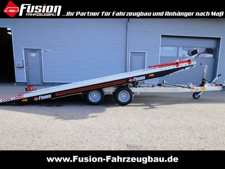 Vezeko Alu Autotransporter 460 x 194 cm, 2.700kg, kippb