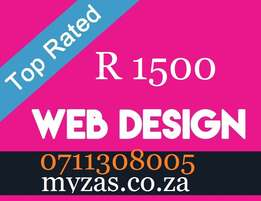 Website Design for as little as R1500 | Designer | Cheap Graphic
