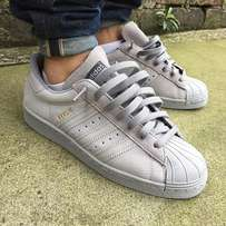 Adidas Grey Suede superstar