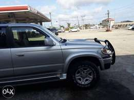 Breaking News! Toyota 4runner 2002mdl Used for sale at affordable rate