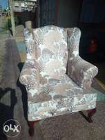 Classy wing chair