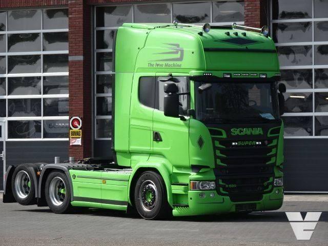 "Scania R580 LA6x2HNB, Low Kilometer ""King of the Road"" - 2014"