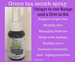 A first in SA - Green Tea Mouth Spray!!!