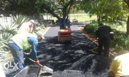 Tar Driveways/ Parking lots R60/m2