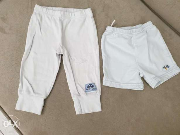 cotton pant and short 12 months