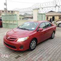 Tokunbo 2011 Toyota Corolla LE Red color