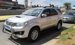 2013 Toyota Fortuner 3.0d-4d R/b Still In Very Good Condition For Sale