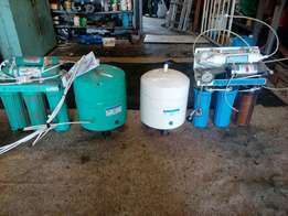 2x RO filter system
