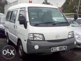 Mazda Bongo on offer to clear stock