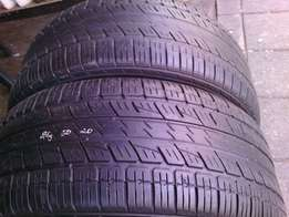 285/50/R20 on special in a good condition each tyres is R800