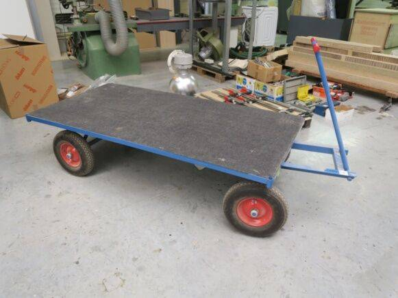 Transport Fetra  Trolley hand pallet truck for sale by auction