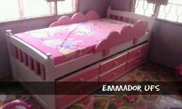 Trundle Bed with Side Guide