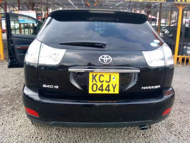 Black Toyota Harrier 2010 Hurlingham - image 4