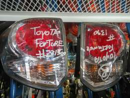 Toyota Fortuner Taillights