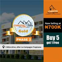 Cheap and genuine plots available for sale in Crystal Gold Estate