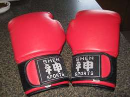 Boxing gloves for kick boxing