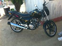 Bike for sale R9800 brandnew only 500km on the clock.125cc