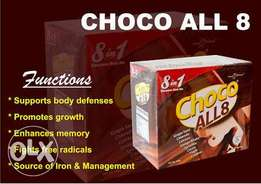 Royale ChocoAll8- The Ultimate 8 in 1 Drink