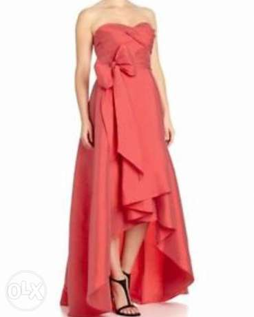 Taffeta Coral Dress