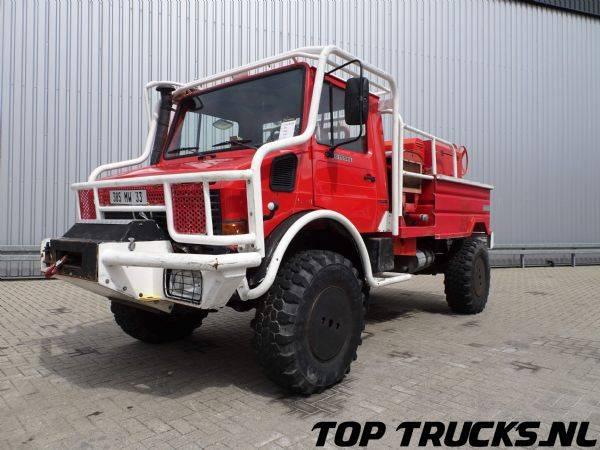 Unimog MB U1550 - Fire Truck - Lier, Winch, Winde - Watertank - ... - 1996