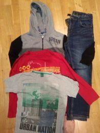 aa534ece6 Bluza plus spodnie chlopiece 140