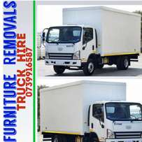 Truck for hire 4 ton