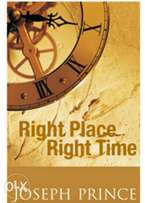 Right Place Right Time By Joseph Prince