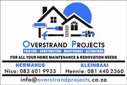 Home Maintenance, Alterations, Painting etc