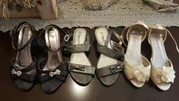Girls formal clothes and shoes