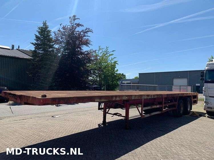 METALOVOUGA  flat trailer steel suspension - 1984 - image 2