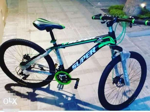 Brand new super cycle for teens and adults shimano gear (3&7) speed 21