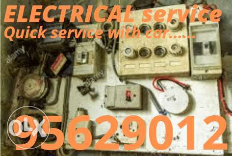 We give a special and quick service of electrical work for you 24 hour