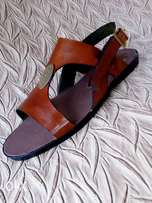 Foring quality leather sandals